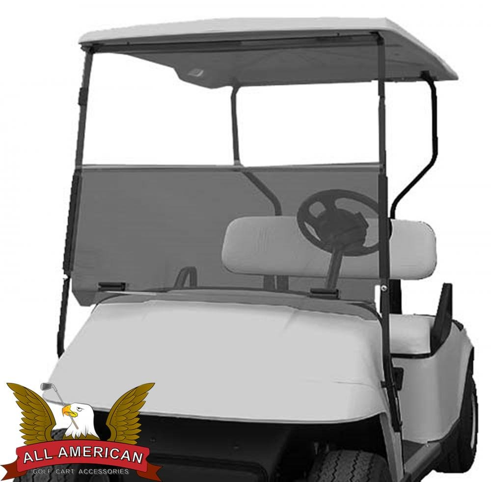 Tinted Windshield For Ezgo Txt Golf Cart 1995 Up 2001 Yamaha Engine Diagram Accessories Automotive