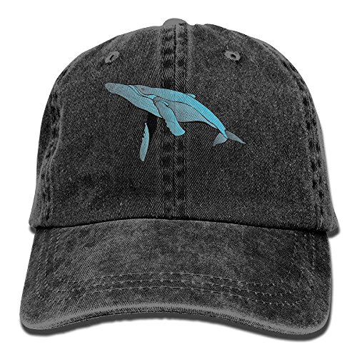 béisbol Baseball Men Whale Women Cap Vintage and Gorras NDJHEH Hat Sports Outdr Jeans For Gray Yqw4BC5