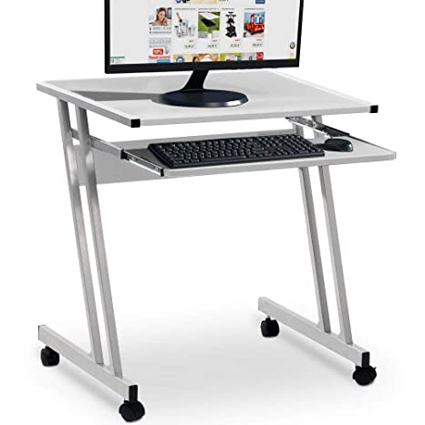 Amazon.de: Beweglicher Schreibtisch Mobiler PC-Schreibtisch ...