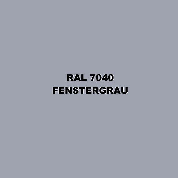 Ludwig Lacke 10 Spraydosen 400ml Autolack Glänzend Ral 7040 Fenstergrau Auto