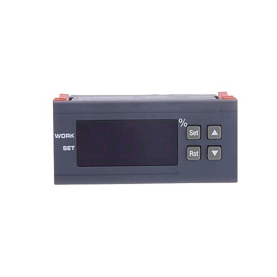 tinxi® controlador regulador digital de humedad higrostato higrostato higrómetro: Amazon.es: Electrónica