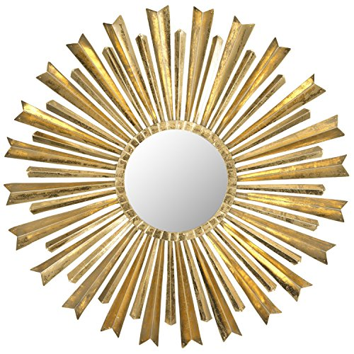 Safavieh Home Collection Golden Arrows Sunburst Mirror, Antique Gold by Safavieh