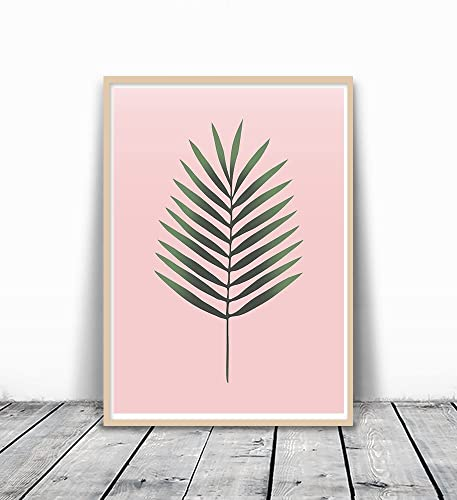 Amazon.com: Tropical Leaf Print, Palm Print, Plant Print, Tropical ...