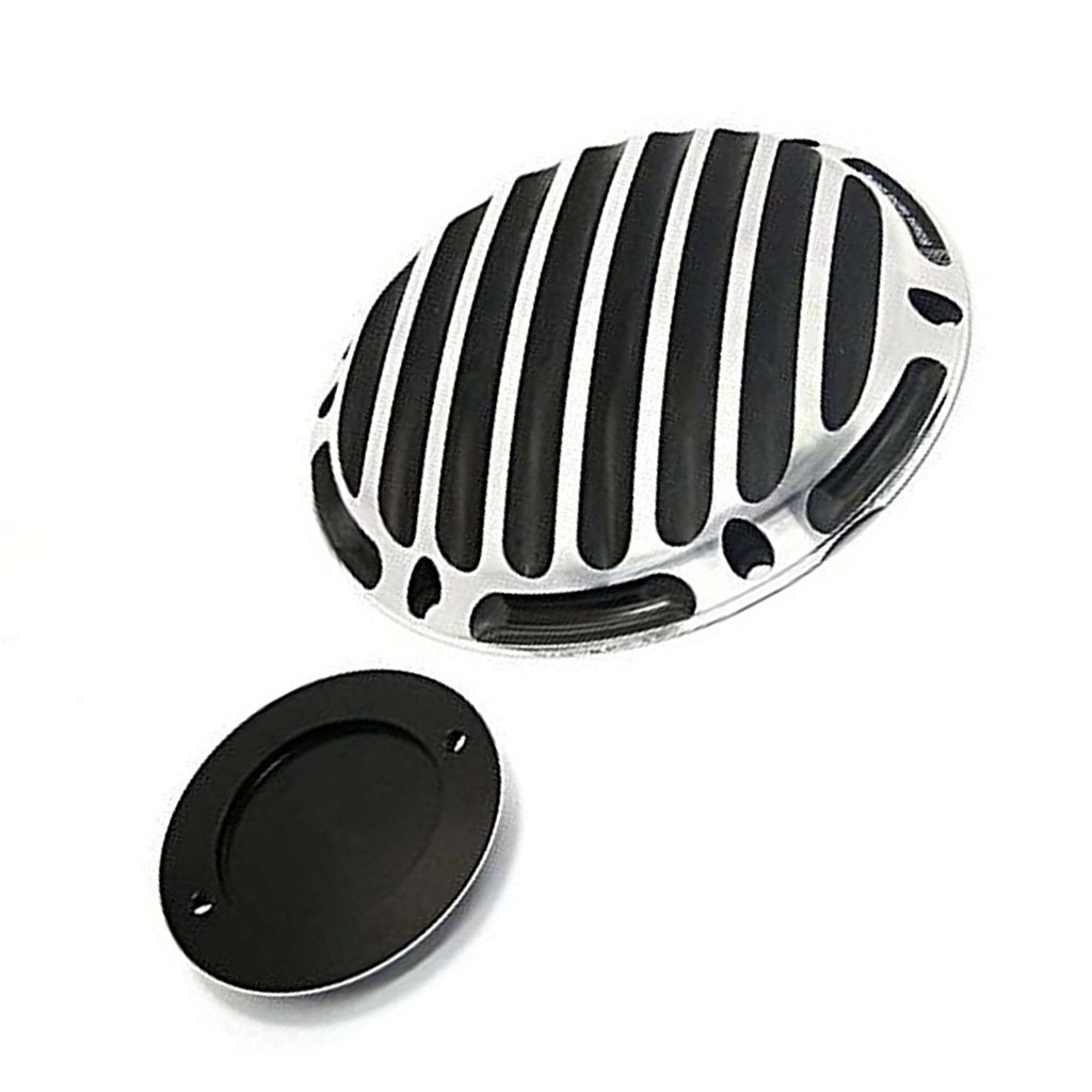Motorcycle Engine Cover Timing Accessories 6 Hole Derby Cover 2 Hole Timer Cover For Harley XL883 XL1200 48 up to 2017 2018 Not applicable Type c