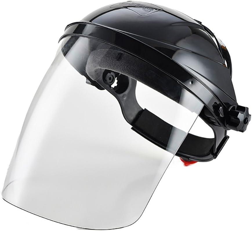 Zhi Jin ajustable transparente de seguridad Face Shield visera pantalla casco máscara anti scratch Splash–Cubierta de protección de los ojos