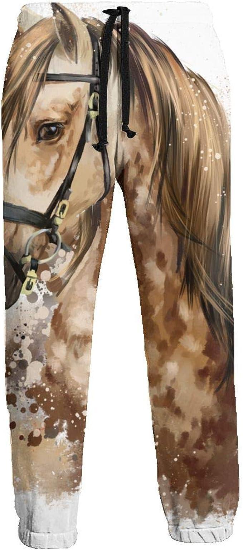 Horse Head Unisex 3D Pantalones Deportivos con Estampado ...