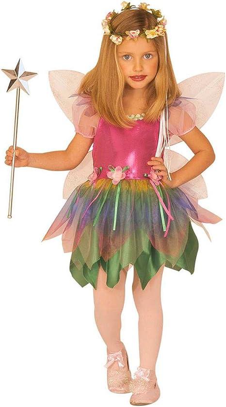 Feenkostüm Fee Elfenkostüm Elfe mit Flügeln Zauberstab Tüllrock Fasching