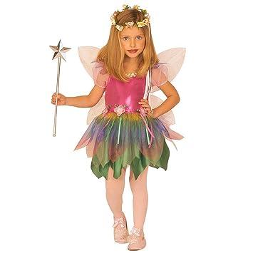 klassisch perfekte Qualität schönes Design NET TOYS Kinder Fee Kostüm mit Flügel Feenkostüm XS 110cm 3 ...