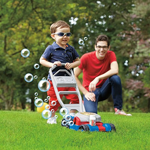 61bvd2X20kL - Fisher-Price Bubble Mower
