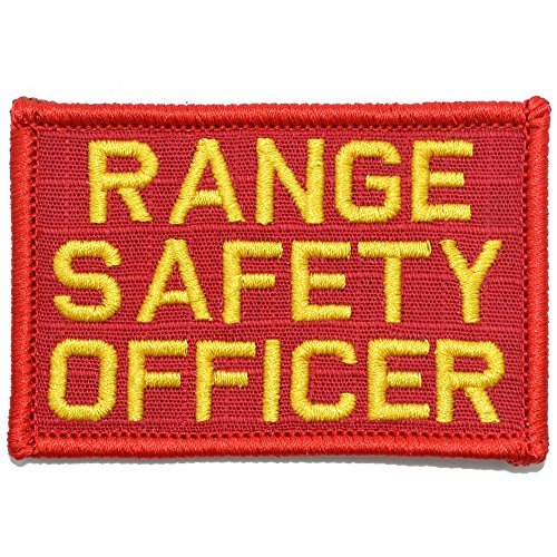 Range Safety Officer - 2x3 Morale Patch - (Red/Yellow)