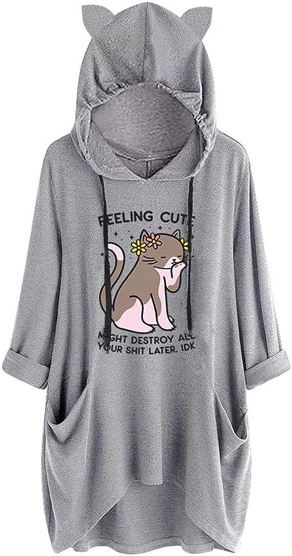 sweat shirt femme avec animaux pas cher