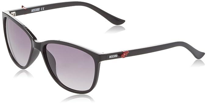 Moschino Sonnenbrille schwarz-braun Damen IsAtTR