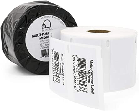 8 Rolls of Multi-Purpose fit for Dymo 30334 1000 Labels Roll LabelWriter 320 4XL