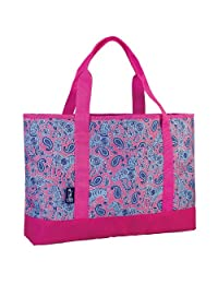 Wildkin Watercolor Ponies Tote-All Bag, Pink, One Size