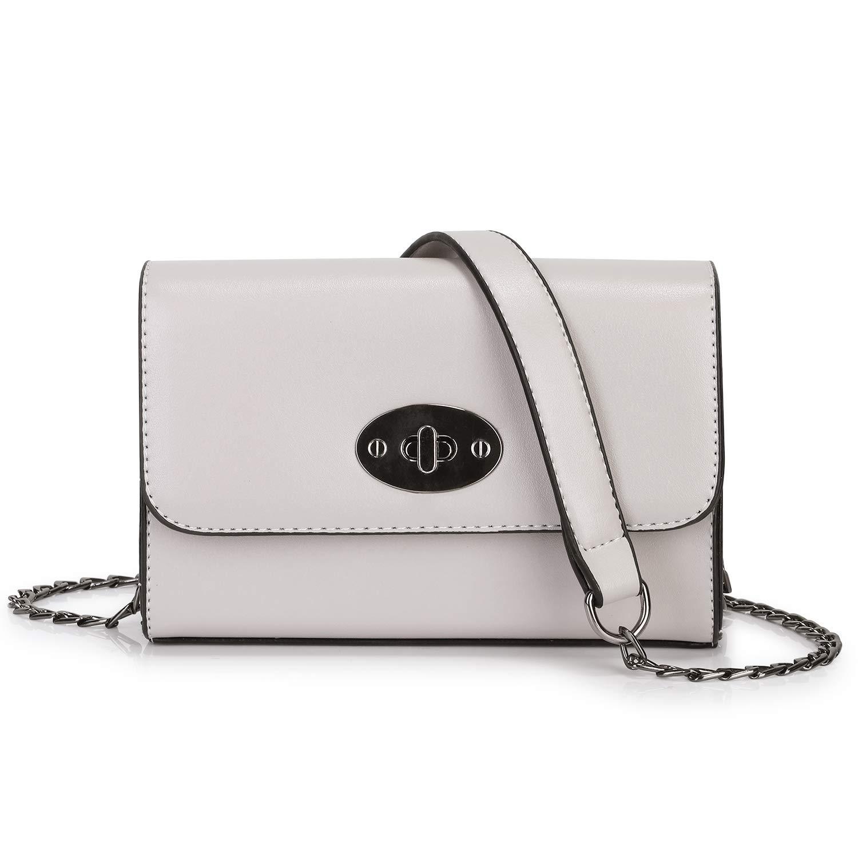 SAMSHOWME Classic Ladies Designer Purses Cross Body Handbags Trendy Bags for Women Shoulder Bags