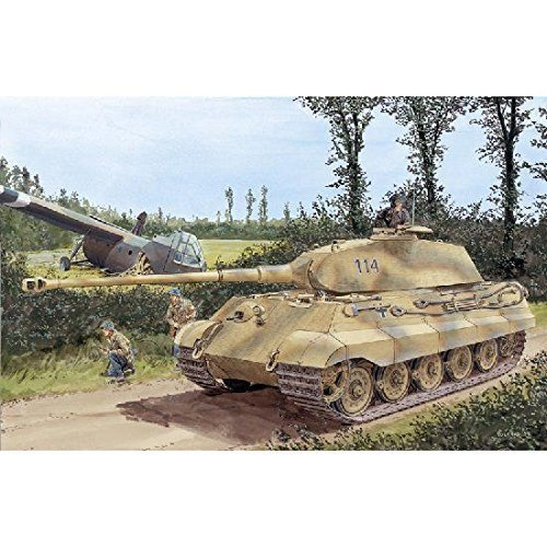 (Dragon Model USA 1/35 WW.II German King Tiger Porsche turret)