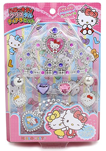 Onoe Yorozu Hello Kitty accessories Crystal tiara set
