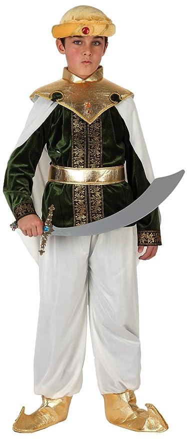 Kostüme Kinder - Disfraz de árabe para niño, talla 5-6 años (6543)