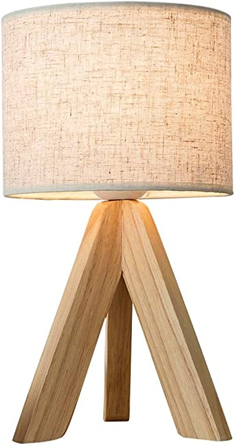 Lámparas de escritorio Lámparas de mesa y mesilla Madera maciza ...