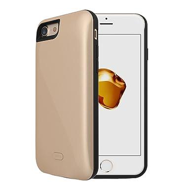 iPhone 7 recargable caso, Vego 5200 mAh portátil desmontable ...