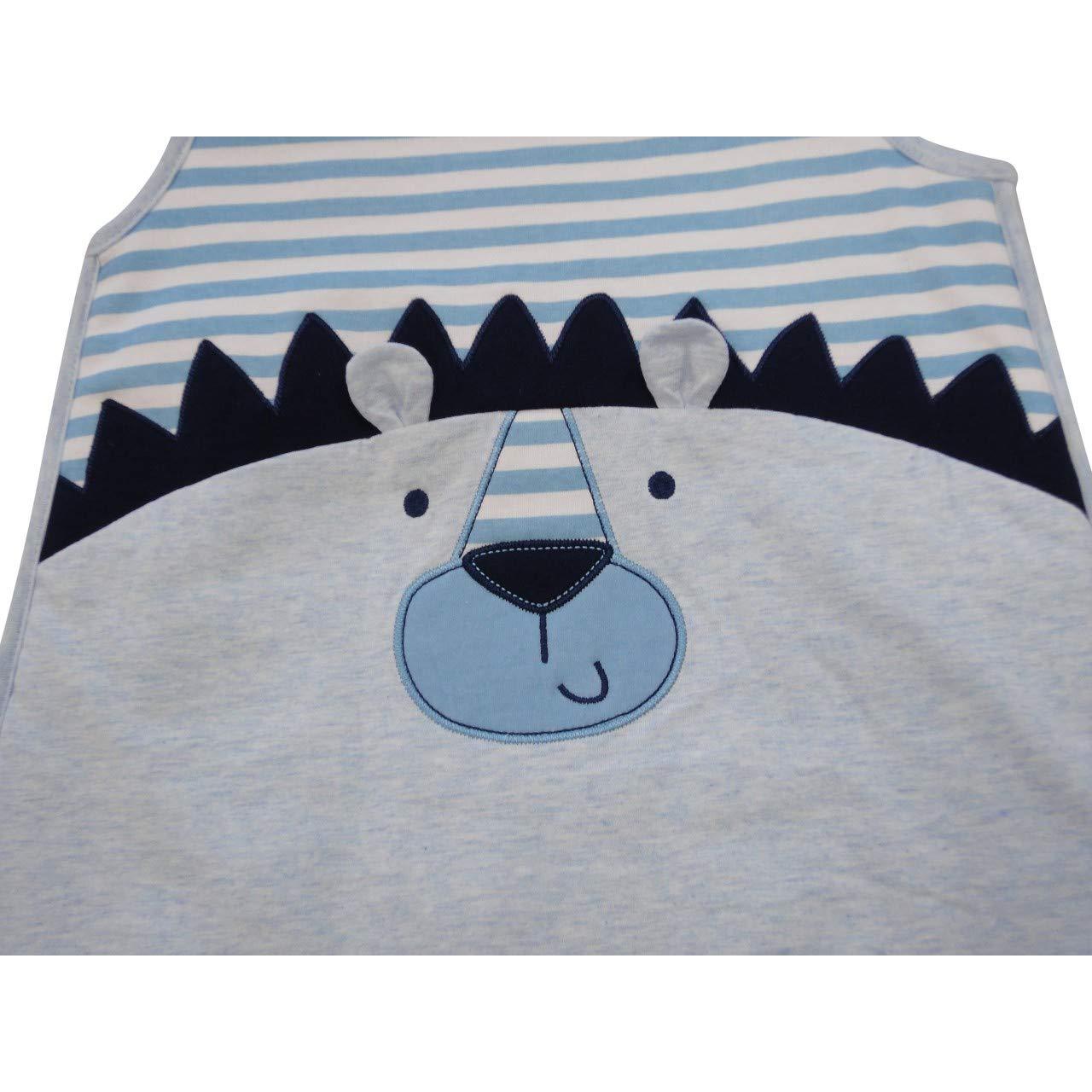 Pitter Patter - Saco de dormir para bebé (2,5 tog, para niños y niñas, 6 a 24 meses) azul Blue Lion Talla:6-12 meses: Amazon.es: Bebé