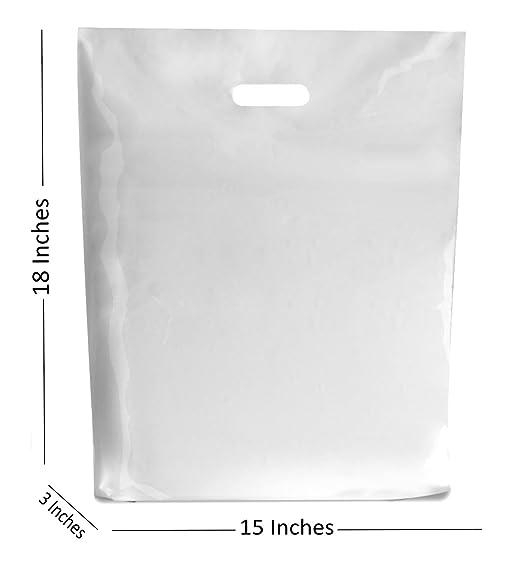 Bolsas de plástico blanco para regalo, tamaño pequeño y ...