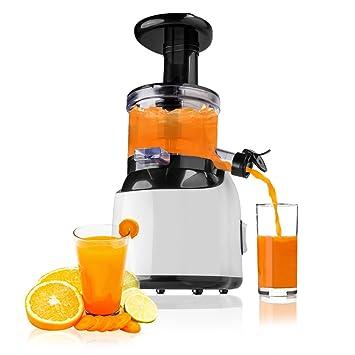 Licuadora Slow Juicer Vitamin Pro con schonenden 60U/min. Exprimidor en forma de prensa: Amazon.es: Hogar