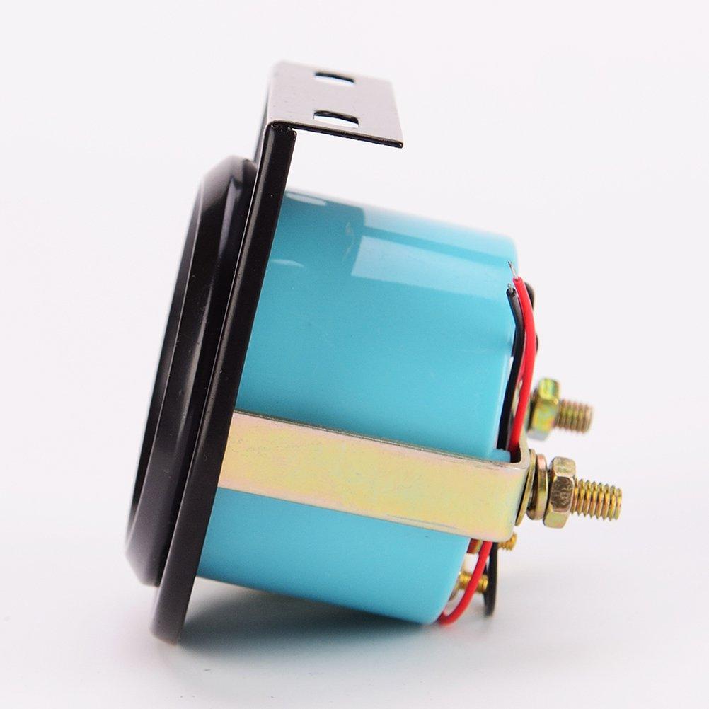 WINOMO 52MM Black Single Oil Temperature Gauge with Bracket Blister