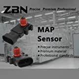 Map Manifold Absolute Pressure Sensor Fits 16249939 213-351 SU1078 9359409 12614973 213-796 For Buick Cadillac Chevrolet Oldsmobile Pontiac GMC 1995-2011 Selected/ZBN