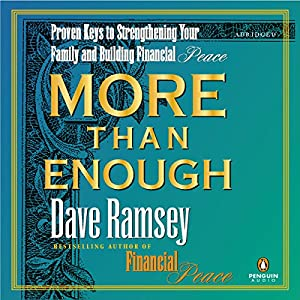More Than Enough Audiobook