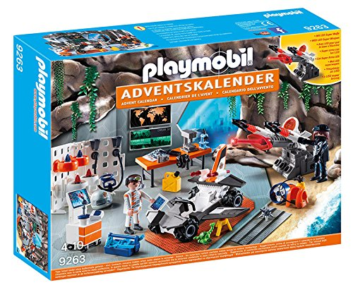 Playmobil Advent Calendar Top Agents with LED Super Weapon Geobra Brandstatter 9263