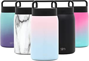 Simple Modern Provision Insulated Food Jar Thermos Leak Proof Stainless Steel Storage Lunch Container, 24oz with Handle Lid, Ombre: Sweet Taffy