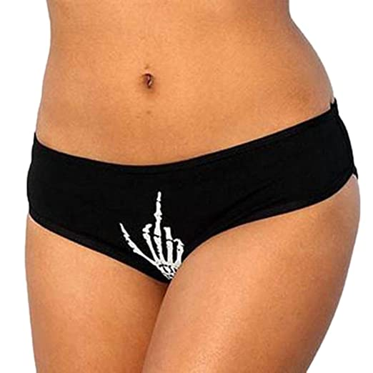 8d18452c7869 Amazon.com: Women Sexy Racy Funny Lingerie G-String Briefs Underwear Panties  T String Thongs Knickers: Clothing