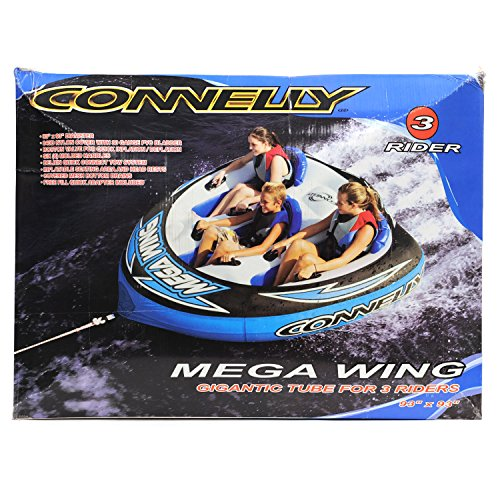Connelly Mega Wing Three-Person Tube (Blue) (Connelly Mega Wing Tube)