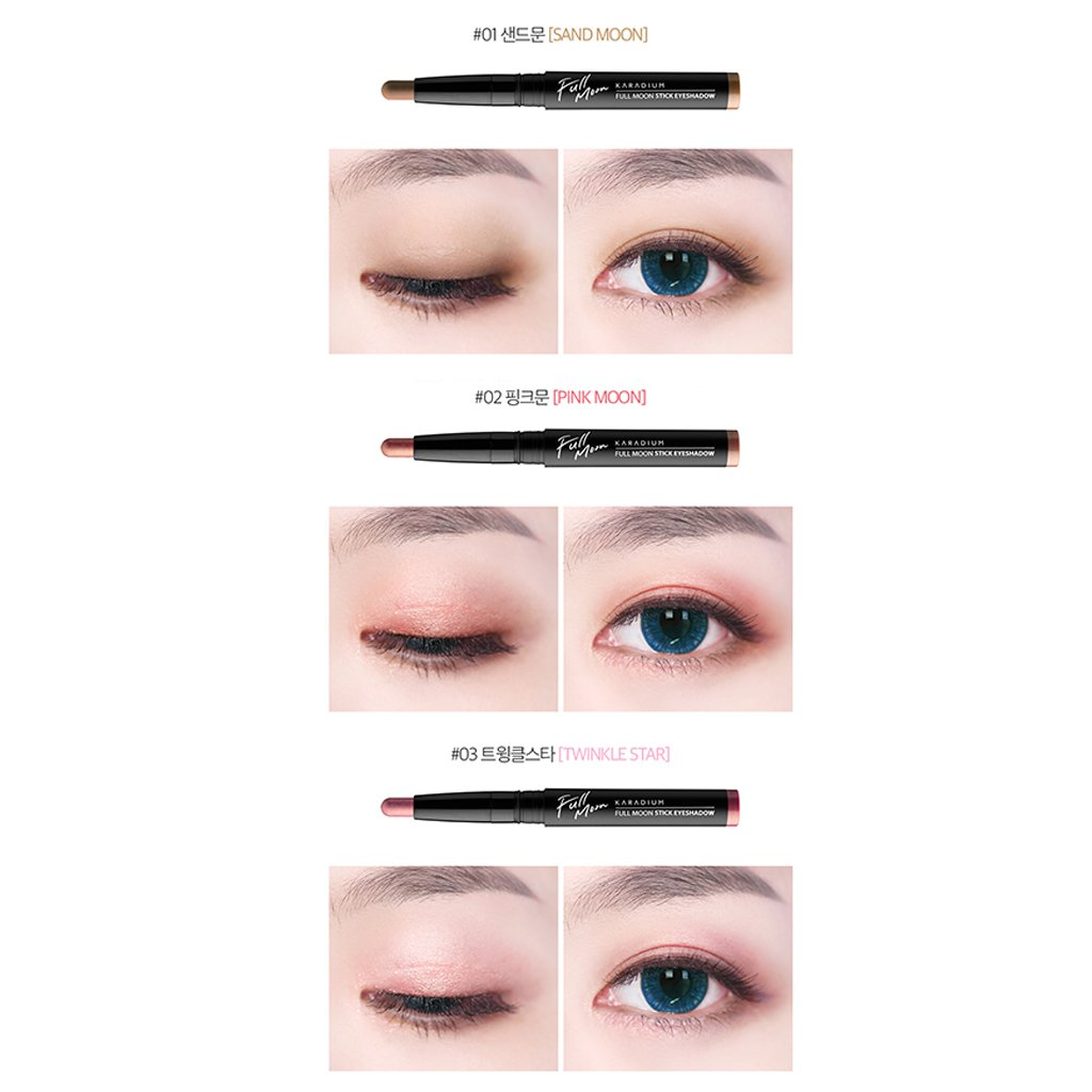 [KARADIUM] Fullmoon Stick Eye Shadow 1.4g - 6 Colors/Daily Eye Makeup (#6 Summer Night) by KARADIUM (Image #6)