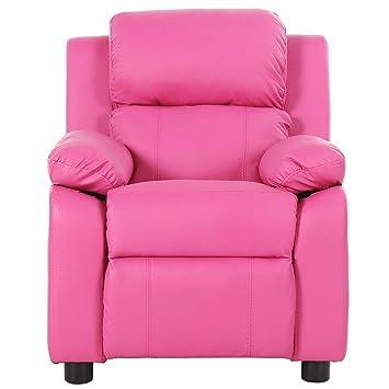 Harper & Bright Diseños niños reclinable con portavasos Piel ...