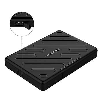 Yottamaster 2,5 Pulgadas USB 3.0 Carcasa Disco Duro Externo para HDD/SSD de 9.5mm y 7mm UASP Anti-Humedad Anti-Polvo Anti-choques