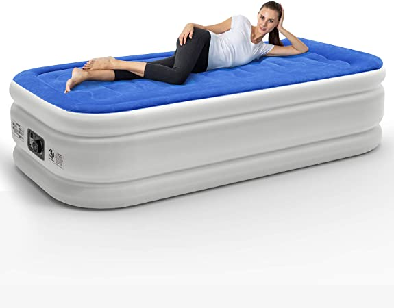 Leader Accessories Colchón Hinchable Cama Inflable Individual ...