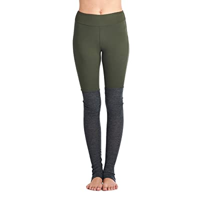 Tough Cookie's Women's Brush & Ribbed 2 Color Yoga Leggings (Made in USA)