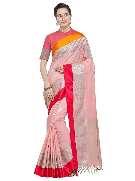 8b86bbe887bbe6 VARKALA SILK SAREES Women s Kanjiwaram Banarasi Katan Silk with Blouse  Piece