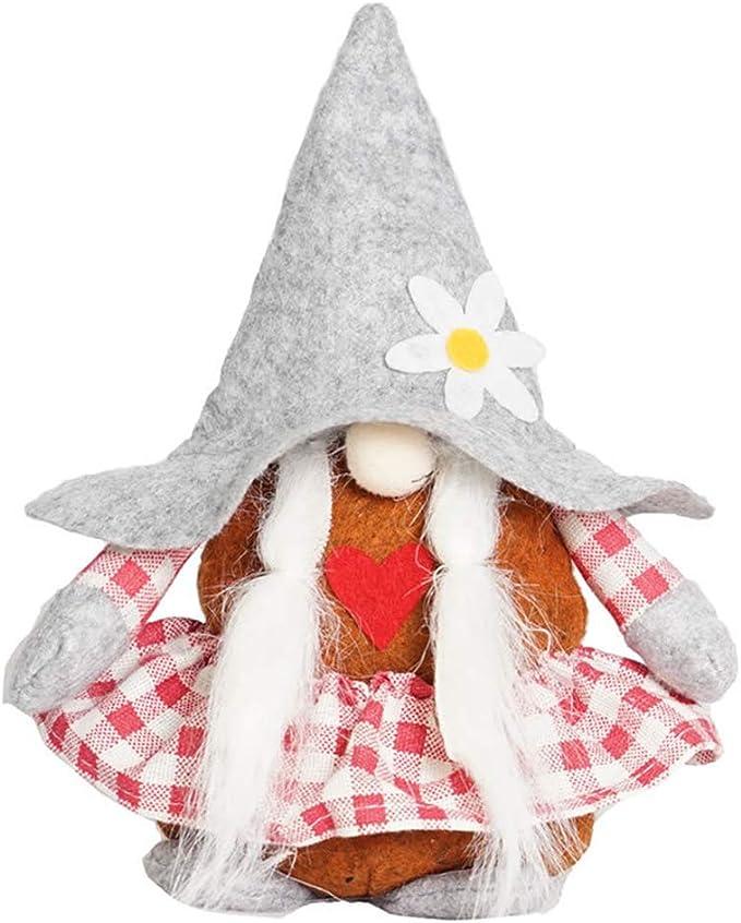 BENGKUI Muñeca de Navidad, decoración de gnomos navideños