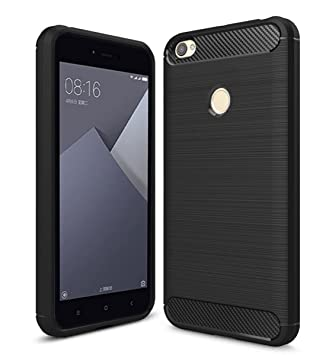 Xiaomi Redmi Note 5A Prime Funda, Estuyoya Silicona [Efecto Carbono] funda trasera [Diseño Duradero] alta calidad [Antigolpes] Gel Flexible Carcasa ...