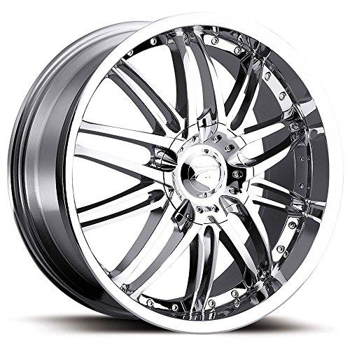 Platinum Apex Type 200 FWD Chrome - 17 x 7.5 Inch Wheel