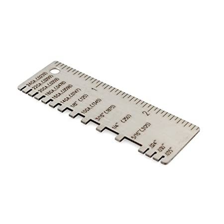 Wiremetal sheet thickness gauge 229895 welding gage plated size wiremetal sheet thickness gauge 229895 welding gage plated size inspection tool greentooth Gallery