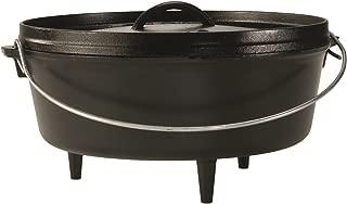 product image for Lodge Cast Iron Camp Dutch Oven, 6-Quart