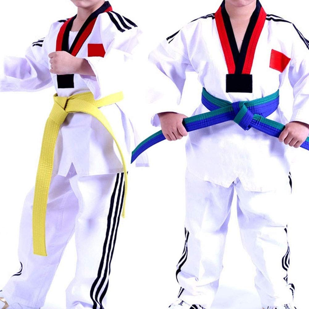 ruiycltd Professional Taekwondo Belt Karate Martial Judo Wrap Martial Arts Stripe Sports Accessory New Years Gift