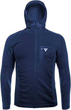 Dainese Awa Mid Hooded Full Zip Man Couche Externe de Ski