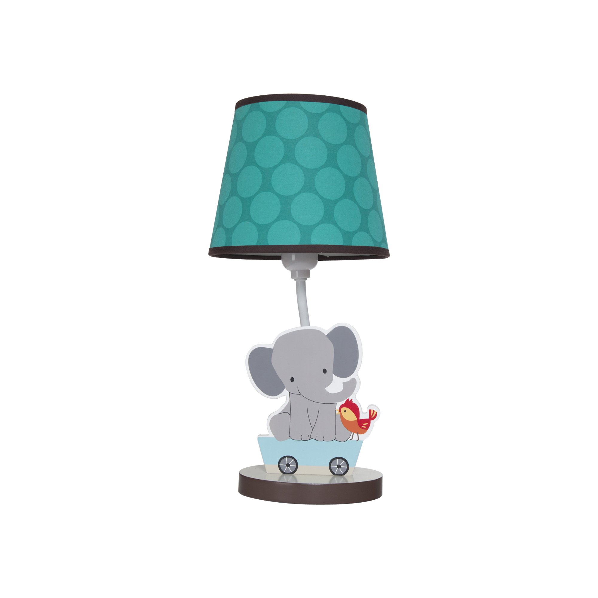 Bedtime Originals Lamp with Shade and Bulb, Choo Choo
