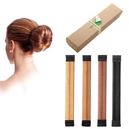 naisicatar peluca de cabello Bun Disk Alicate Bob Maker Moño De Pelo Maker rosquilla Clip Shaper