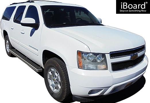 "iBoard Running Boards 6/"" Fit 00-19 Chevy Avalanche//Suburban//GMC Yukon XL"